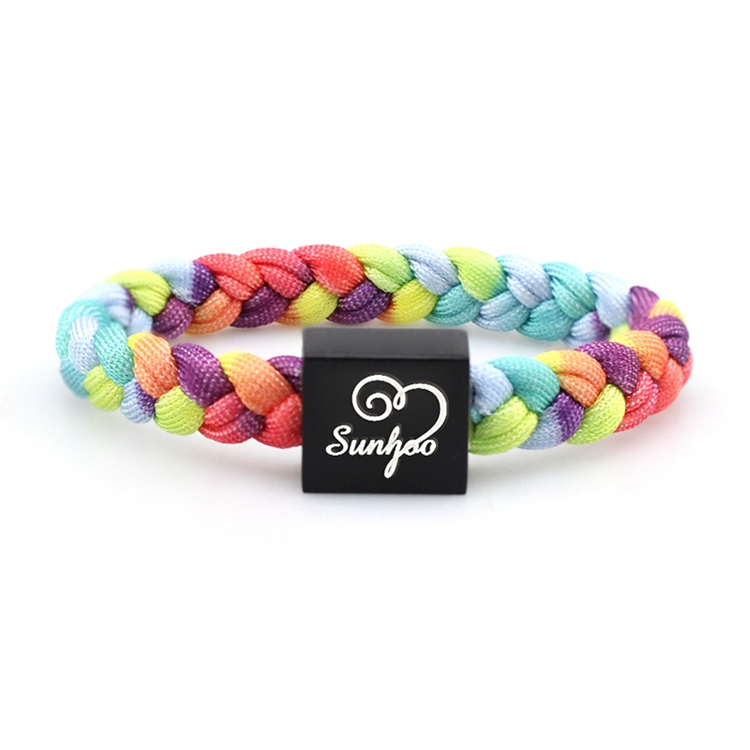 New Trend Hot Hand Knitted Bracelet Woven Adjust Hand Made Rope Shoelace
