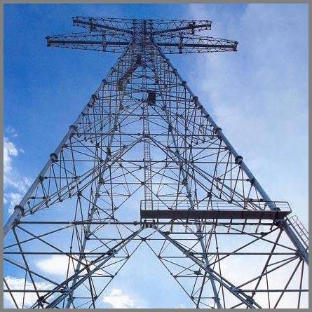 Electric Power Steel Angle Tubular Tower