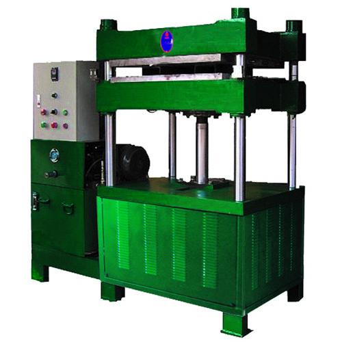 Máquina de prensado en caliente hidráulico de polímero de caucho de una sola estación de 5 toneladas