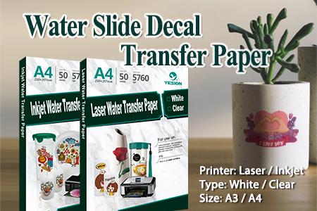 Inkjet Water Transfer Paper ,US Standard Size, Amazon Wholesale