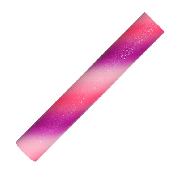 YESION Rainbow glitter adheisve craft vinyl sheet and roll RSC-Y03