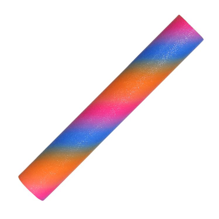 YESION Rainbow glitter adheisve craft vinyl sheet and roll RSC-Y05