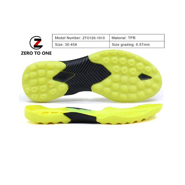 2020 Latest Sports Tpr Shoe Soles For Soccer Football Shoe Outsole