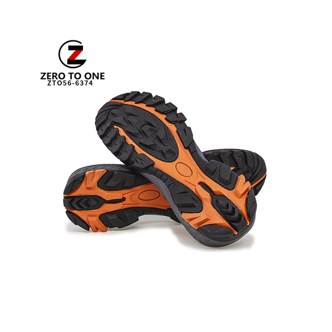 2020 New Style TPR Outsole Hiking Shoes Soles For Men