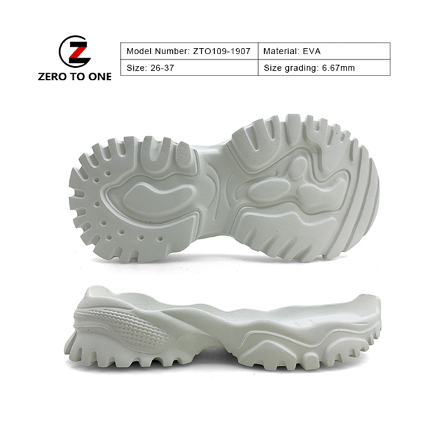 Newly Design Wear Proof High Elasticity Eva Leather Shoe Outsole For Fitness