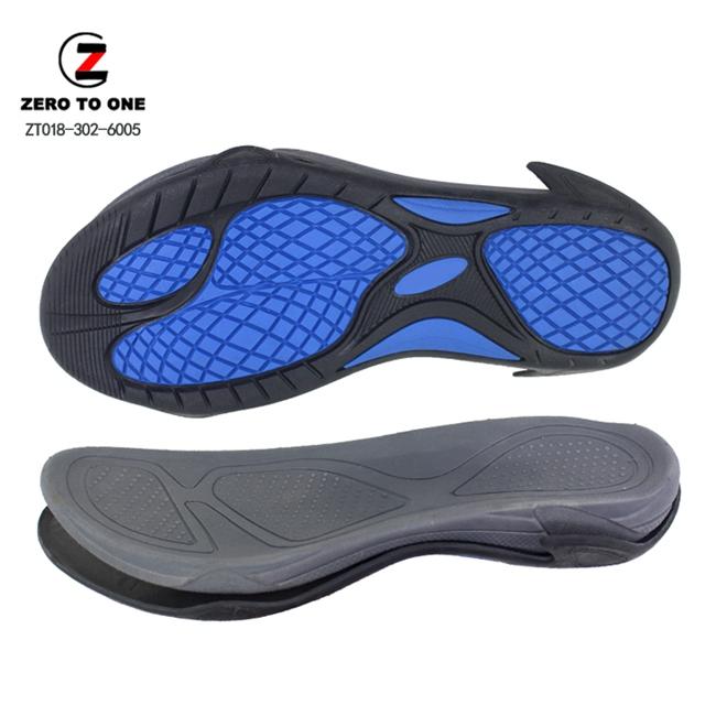 Hot Selling Shock-proof Shoe Sole For Sandal Making Double Pieces EVA Shoe Sole For Men Sandal