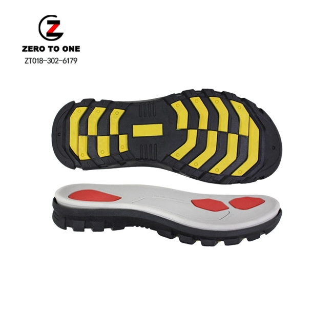 New Design Custom OEM Color Logo Hot Sale Light Weight Soft Durable EVA MD+MD Phylon Sport Sandal Shoes Sole