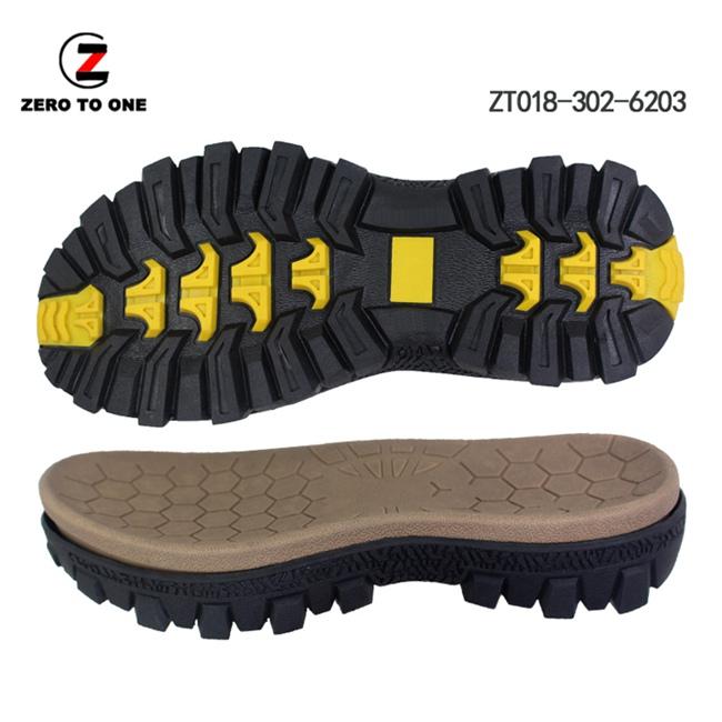 New Release OEM Custom Color Logo Non-slip EVA MD+TPR Sport Sandal Sole Manufacturer