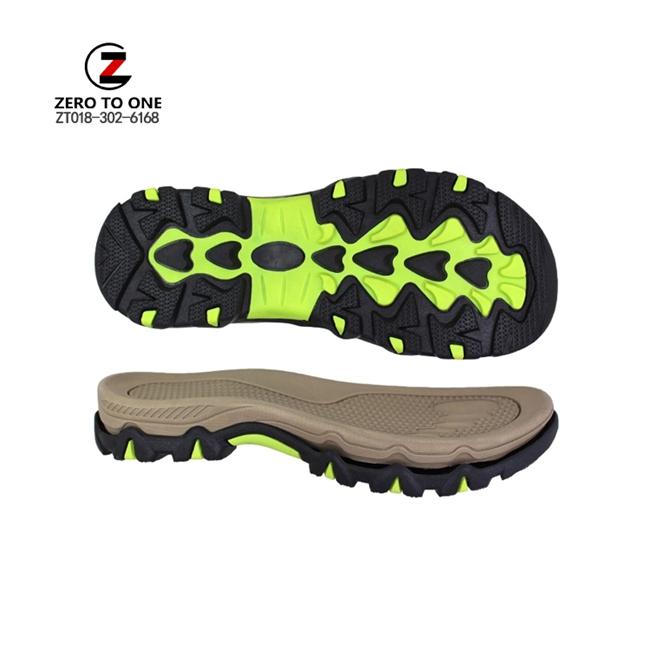 New Trends EVA TPR Sole For Sandal Making High Elastic Sandal Shoe Sole Wholesaler