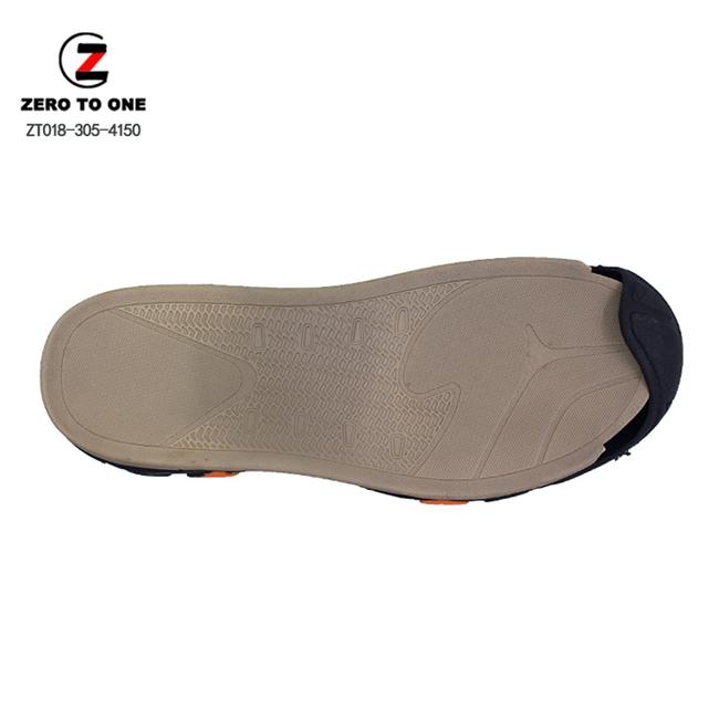 New Toe Top Cover Design OEM Custom Logo Colors EVA MD Phylon Tpr/Rubber Sandal Oustole Sole