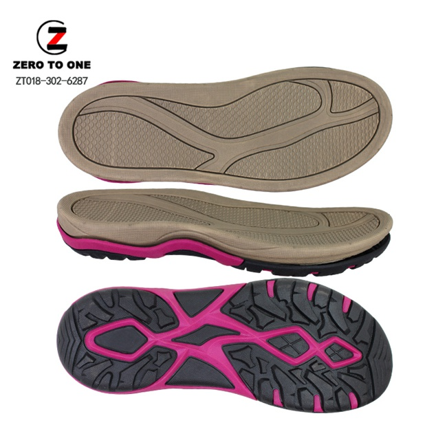 Non-Slip EVA And Double Color TPR Sandal Sole