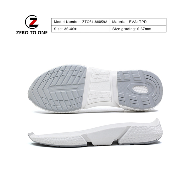 Anti Slip Sport Shoes Sole For Travelling New Sports Shoe Soles Making Sneaker Outsoles
