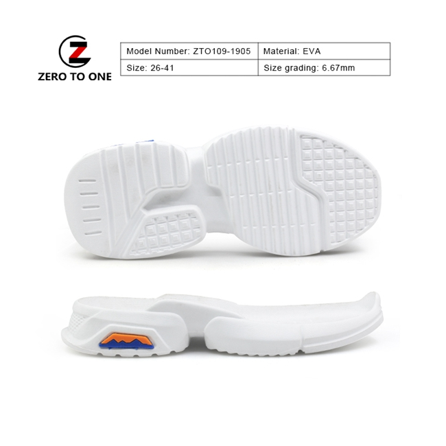 Classic Durable Anti Static Electricity Eva Children Shoe Sole With Great Quality For Hiking