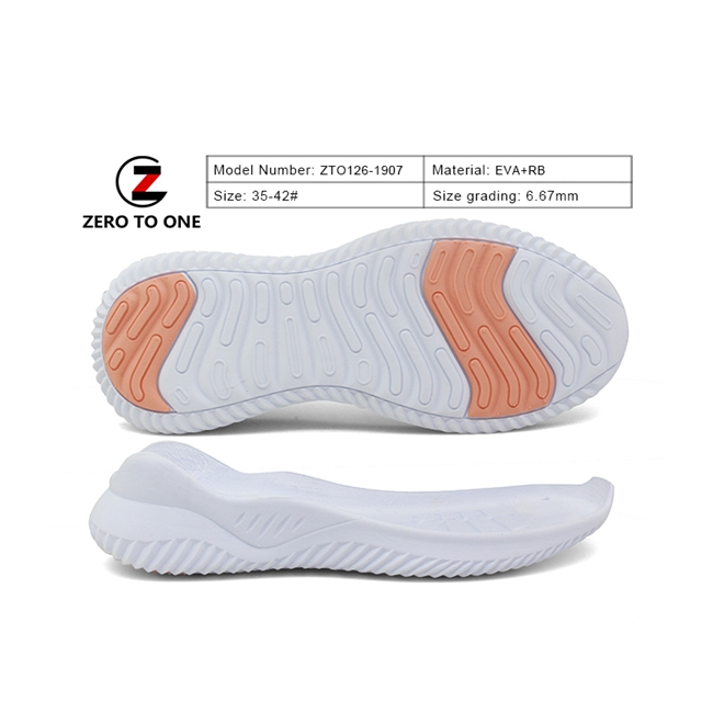 High Quality Factory Direct Double Color Oem Custom Men Eva Rubber Md Phylon Eva Rubber Sandal Outsole