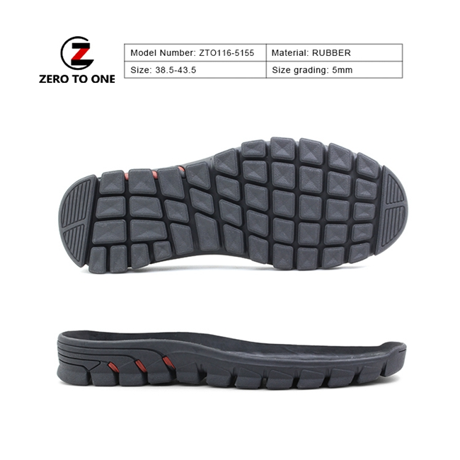 Newest Type Applied Hard Fold For Shoes Making Sports Shoe Outer Sole In Walking