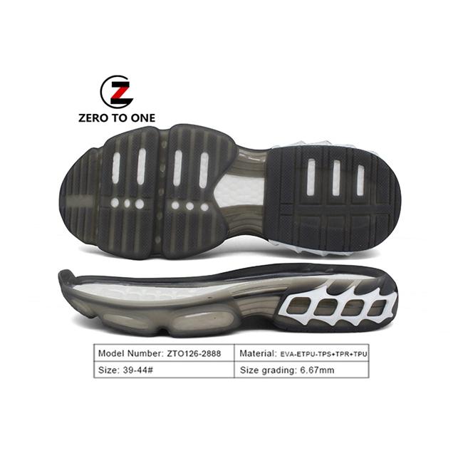 Nice Outsole Sport Running Shoes EVA ETPU TPS TPR TPU Sole