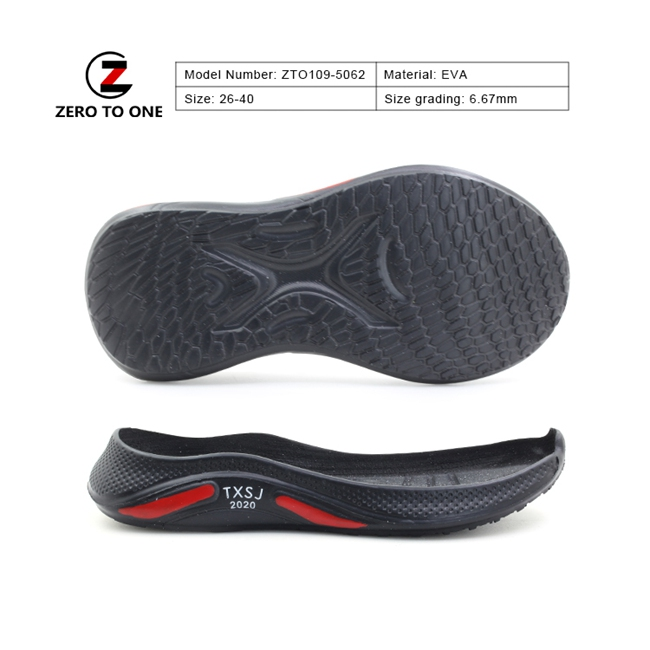 Newly Design Casual Excellent Oxidation Resistance Eva Sport With Sole Sneaker For Running