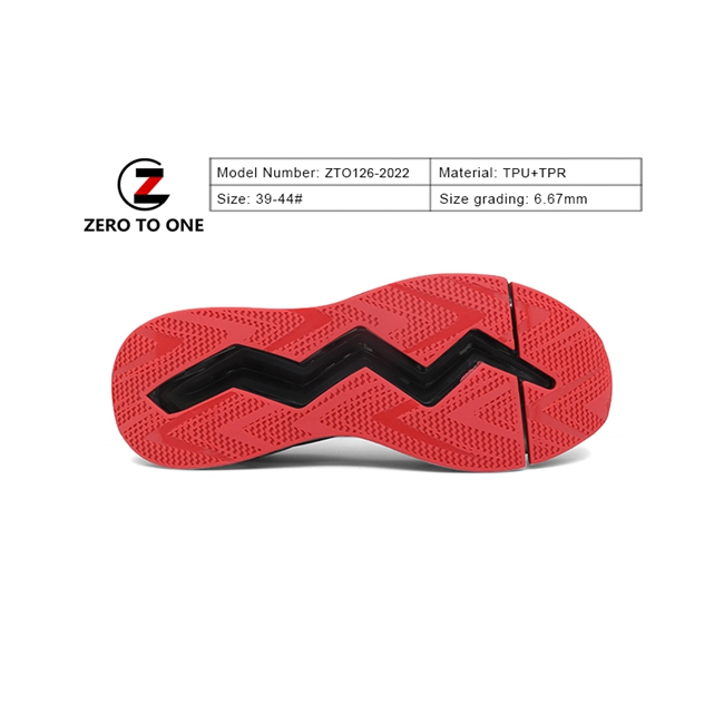 Zero To One Best Quality Men Tpu Tpr Beach Sandal Outsole