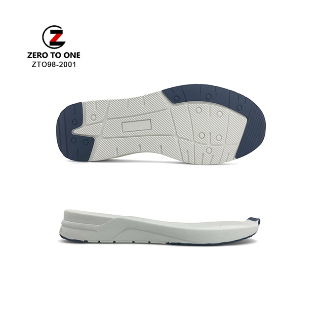 Wholesale Antistatic Sneaker Custom Design Durable Eva Tpr Shoes Outsole Sneakers Soles For Travelling