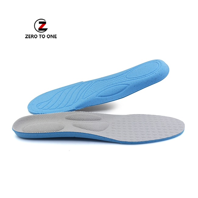 Absorbing Shoe Impact Cushion Insoles Medical Flat Foot Corrector Comfortable Breathable Honeycomb Arch Insole