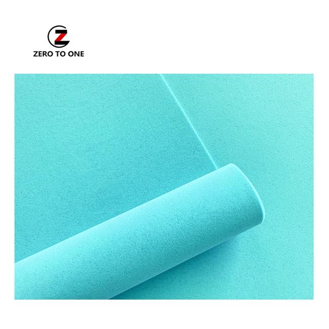 Professional Shock Absorption Pu Sheet Foam Material For Yoga Mat Making