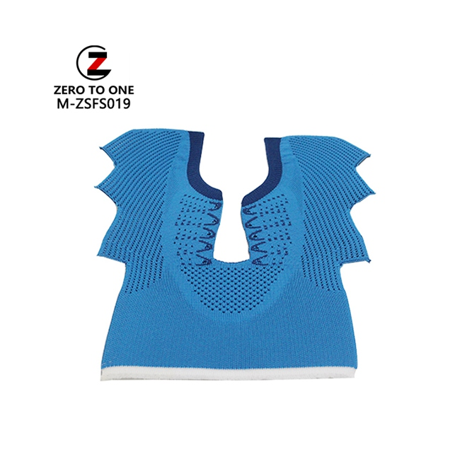 China Factory Produce Athletic Shoe Upper Fly Woven Vamp Semi-Finished Upper Parts OEM Service