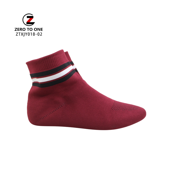 Classic Design Fly Knitted Sport Upper Slip On Shoe For Men Semi-Finished Vamp Competitive Price