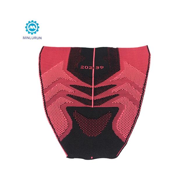 Hot Selling Custom OEM Breathable High Elastic Knitted Nylon Polyester Shoe Upper