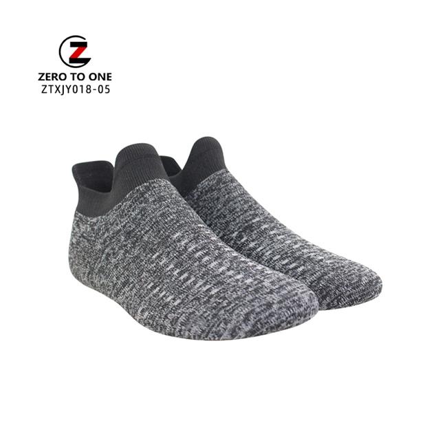 Factory Price Sport Shoe Sock Vamp Polyester Knitted Slip On Shoe Upper Semi-Finished Upper