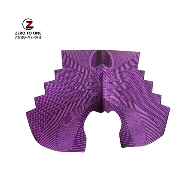 Hot Selling Brand Fabric Fly Design Knitting Uppers Design Outdoor Sport Nylon Lightweight Upper