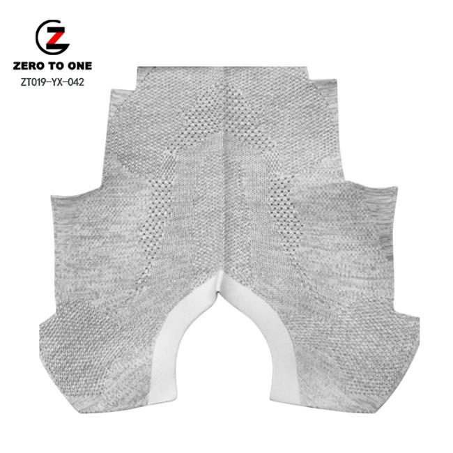 High Elastic Breathable Slip-on Running Sneaker Shoes Sport Textile Fabric Knit Vamp Upper