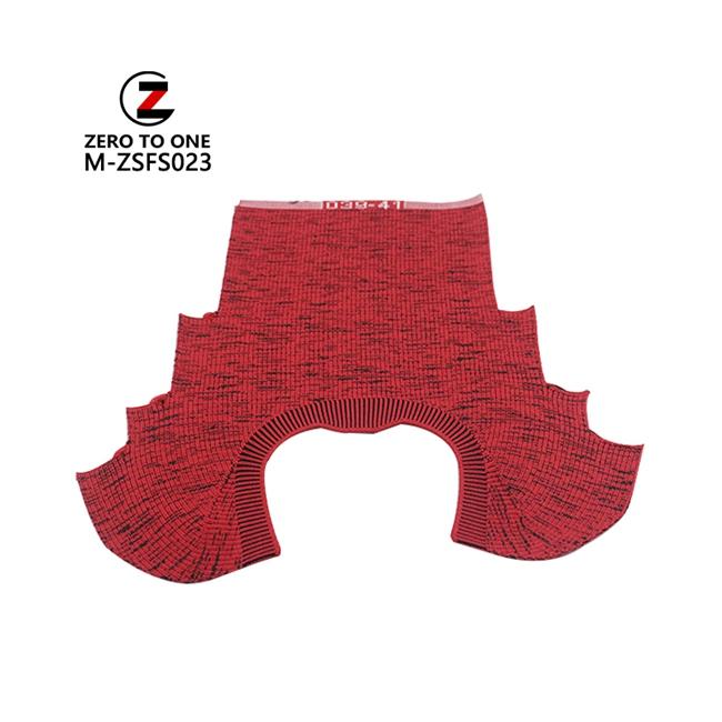 Fly Knitted Sport Shoe Upper Men Slip On Shoe Vamp Part Semi-Finished Upper For Customized Color
