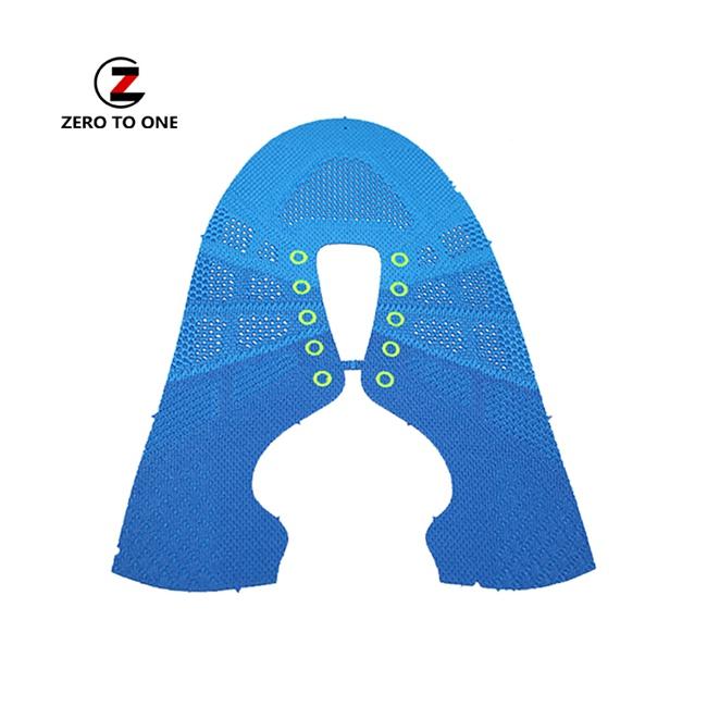 Jinjiang Custom OEM Running Sneaker Knitting Sport Shoes Weaving Shoe Vamp Upper