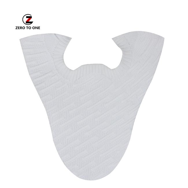 Jinjiang Custom Fly Knit Fabric Shoe Upper Lace Up Sport Shoe Vamp For Men Semi-Finished Upper