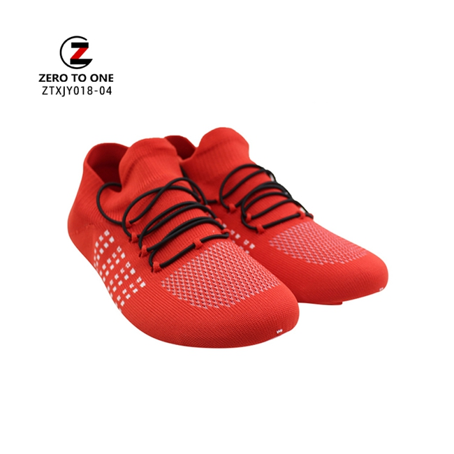 New Arrival Lace Up Casual Shoe Sock Upper Fly Knit Good Resistant Sneaker Vamp Factory Price