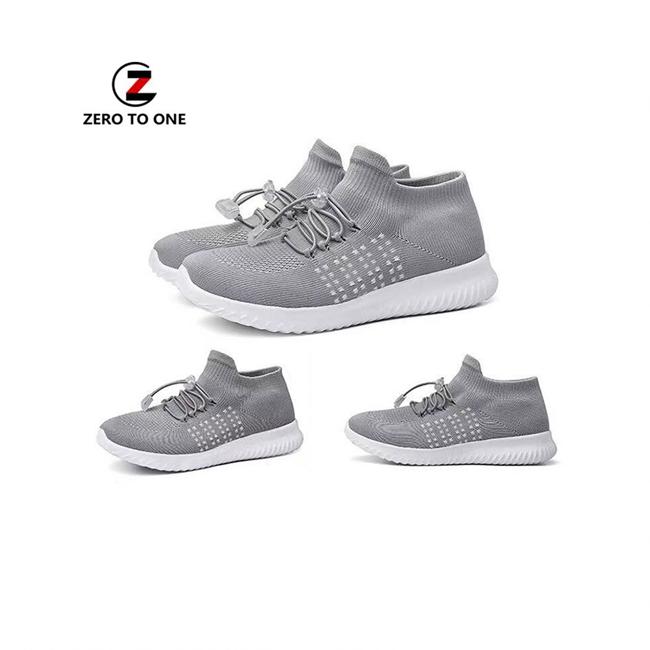 Slip On Shoes 3D Fly Knitting Polyester Nylon Fabric Yarn Material Knitted Sneaker Vamp Upper