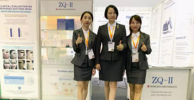 Yasha ZQ-II was invited to participate in the 2019 Vietnam Beauty Salon Expo