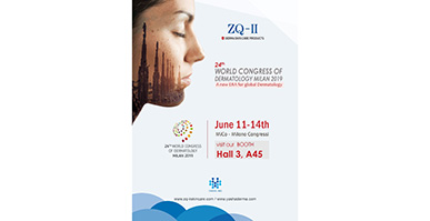 ZQ-II are very honored to attend 24th World congress of Dermatology In Milan, Italy