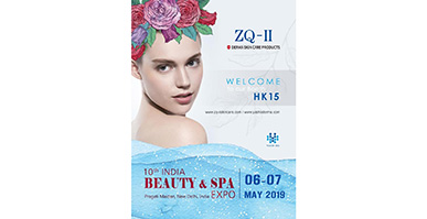 ZQ-II Attend Indian Biggest Beauty&spa Exhibition And Stunning On The Fair