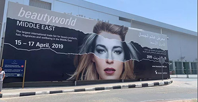 ZQ-II stunningly debuted at Beautyworld Middle East in the Middle East Dubai International Beauty Salon Exhibition