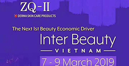 ZQ-II Are Here For Inter Beauty Vietnam Exhibition